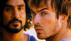 Boone and Sayid.