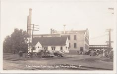 https://flic.kr/p/GV8Akd | SW Lake Odessa MI RPPC 1930s founded 1918 THE LAKE ODESSA CANNING COMPANY in Ionia County alongside the Detroit, Lansing and Northern Railroad and later the PMRR Pere Marquette Railroad Tracks