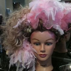FeFe the Showgirl doll head:)