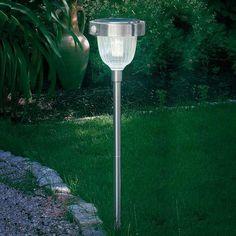 Lampe solaire ASINARA détecteur infrarouge, inox sicher & bequem online bestellen bei Lampenwelt.de.