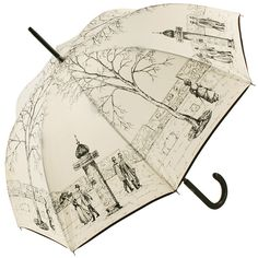 Paris Street Umbrella by Guy de Jean - Brolliesgalore