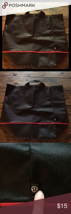 FREE Tote w Lululemon Purchase from Closet! Great condition. Free with purchase of Lululemon item. Just bundle the two with the price of the first item. lululemon athletica Bags Totes