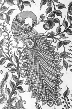 40 Imaginative Drawings Of Super Detailed Art Peacock Drawing, Peacock Painting, Peacock Art, Mural Painting, Mural Art, Kalamkari Painting, Madhubani Painting, Mandala Art Lesson, Madhubani Art