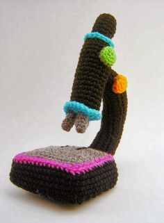 Medical Laboratory and Biomedical Science: Crochet Microscope