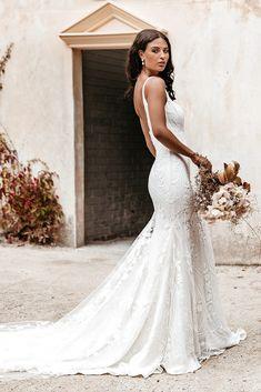 Untamed Heart | The Brand New Wedding Dress Collection from Lovers Society Gowns, Mermaid Wedding, S Curves, New Wedding Dresses, Bridal, Wedding Bridesmaids, Dress Collection, Bell Sleeves, Backless