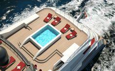 Luxury yacht Hull C04 - Exterior
