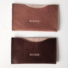 CARD HOLDER  #style #leather #handmade #madewithlove #handbag #responsiblefashion #tote #misoui #wantit #brown
