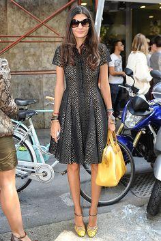 Milan Fashion Week Street Style ~ Giovanna Battaglia
