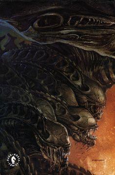 Aliens Tribes by David Dorman