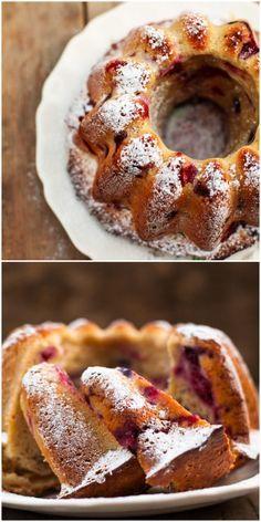 Raspberry Limoncello Bundt Cake make individual units Cupcakes, Cupcake Cakes, Just Desserts, Delicious Desserts, Raspberry Cake, Blackberry, Muffins, Cake Recipes, Dessert Recipes