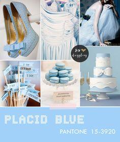 pantone color trend blue wedding palette Looks like Cinderella Blue! Palette Pantone, Pantone Color, Colour Schemes, Color Trends, Sapphire Blue Weddings, Color Inspiration, Wedding Inspiration, Spring Wedding Colors, Wedding Themes