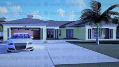 6 Bedroom House Plans - My Building Plans South Africa Round House Plans, Tuscan House Plans, Square House Plans, Metal House Plans, Single Storey House Plans, Split Level House Plans, My Building, Building Plans, 6 Bedroom House Plans