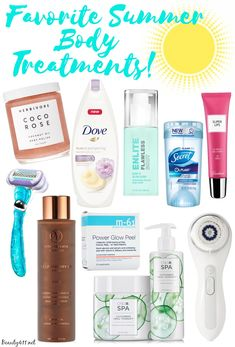 Favorite Summer Body Treatments!