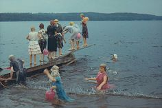 Simskola Swimming school Verveln Sweden 1967 | Flickr - Photo Sharing!