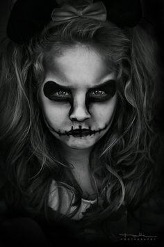 ideas de maquillaje para halloween impresionantes halloween facepaint - Easy Scary Halloween Face Painting Ideas