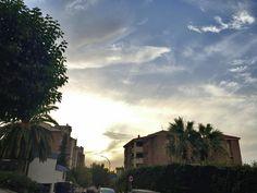 #Atardecer en #Jaén.