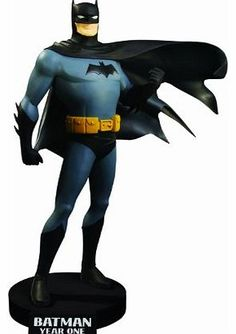 DC Comics BATMAN YEAR ONE DVD - Marvel - Batman Statue 25 cm Cold cast resin statuette china, high quality size approx. 25 x 20 x 13 cm Stand logo. Finished model and hand painted limited edition with certificate of authenticity. (Barcode EAN = 0761941303475). http://www.comparestoreprices.co.uk//dc-comics-batman-year-one-dvd--marvel--batman-statue-25-cm.asp