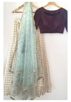 The Peach Project-Aalia Lehenga Set