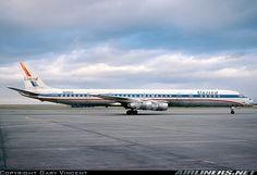 Boeing Aircraft, Passenger Aircraft, Mcdonald Douglas, Airplane Wallpaper, Douglas Dc 8, Douglas Aircraft, Airplane Fighter, Commercial Aircraft, United Airlines