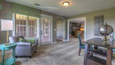 Goodall Homes @ Fairvue Plantation. Interior Design by ShopGirl. Creative use of an upstairs landing
