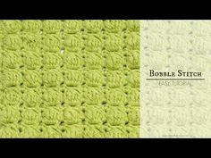 How To: Crochet The Bobble Stitch - Easy Tutorial - Hopeful Honey