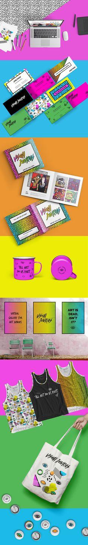 Visual Junkies es una galería en línea de arte contemporánea alternativa.Ofrecen algo fresco e innovador con ediciones limitadas y exclusivas de prints y arte. Para la imagen se tomó como referencia a los años 80´s principios de los 90´s; Colores llama…