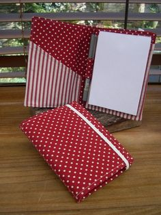 Notepad Organizers Sewing Project (PDF Pattern from DogUnderMyDesk) - Sew, What's New?
