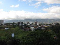 A bird's eye view of downtown San Jose, Costa Rica