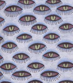 Ana Sender. Eyes pattern. http://nomad-chic-retina.tumblr.com/