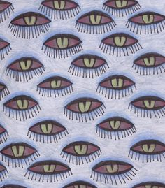 Ana Sender. Eyes pattern.