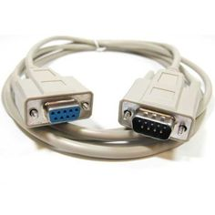SF Cable, 1 ft DB9 M/F Serial Extension Cable RS232 by SF Cable. $4.95. 1 ft DB9 serial cable is used to connect PC and device with DB9 serial port. Male to Female cable is typically used to extend your existing male to Male cable. Fully molded connectors with thumbscrew provide you with a quick and easy connection. Support serial printer, mouse, modem, switch, video splitter, mono & MultiSync video applications. Gauge: 28 AWG