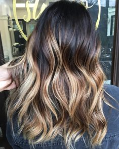 50 Bombshell Blonde Balayage Hairstyles that are Cute and. 90 Balayage Hair Color Ideas With Blonde Brown And. 90 Balayage Hair Color Ideas With Blonde Brown And. Blonde Balayage Highlights, Brown Hair With Blonde Balayage, Balayage Straight Hair, Long Brunette Hair, Ash Blonde Balayage, Hair Color Balayage, Black To Blonde Hair, Hair Colour, Short Textured Hair