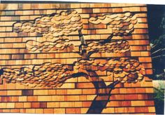 Decorative Cedar Shingle Tree