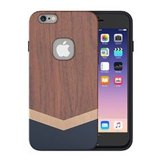 Amazon.com: iPhone 6 Plus Case,Slicoo® Unique Handmade Natural Wood Slim Hard Cover Wooden Protective Case for iPhone 6 Plus / Apple iPhone 6S plus (Rosewood): Cell Phones & Accessories