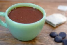 Yummy warme chocolademelk zonder geraffineerde suikers; can it be done?