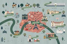 Pairs map for Le Monde / by Lotta Nieminen