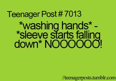 Oh my gosh!!! This happens everytime!!!