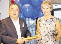 Sindelfingen - Rotariclub mit neuem Präsidenten - Sarah Kupke übergibt an R.Chow