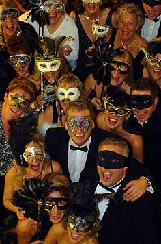Douglas Macmillian Masked Ball Charity event at Keele Hall