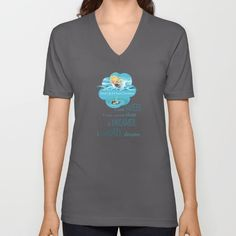 V-NECK SHIRT. Other colors & different sizes available. Follow We~Ivy's Art BootH for more special #art #gift ideas for #holiday seasons or # birthday #party, to find great #home decors or stuff just to spoil yourself.