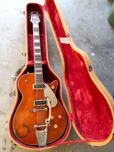 1955 Gretsch 6121 Chet Atkins Solid Body   The Guitar Broker