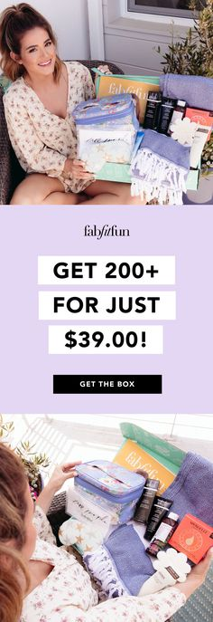 The #1 subscription box you need this year is FabFitFun! Get $200+ of full-size makeup, fashion, fitness, & wellness goodies for only $39.99 with code BOOM