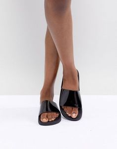 c16138f3f9b Image 1 of ASOS DESIGN Flaunter pool sliders Gladiator Sandals