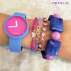 💘 Per spedizioni WhatsApp Arm Party, Oclock, Fashion Bags, Swatch, Jewellery, Bracelets, Ideas, Style, Clocks