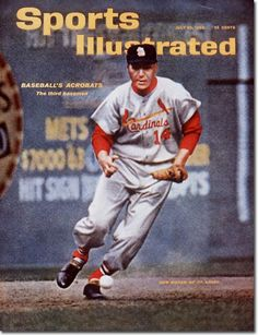 Ken Boyer on cover of Sports Illustrated, July 30, 1962