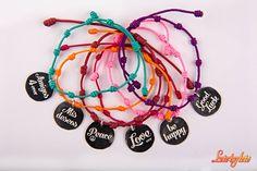 Pulseras mis deseos #rosabisbe #lotobyloto #jewells #design #barcelona #wishes #love #happy #lucky #friends #peace Happy Love, Alex And Ani Charms, Barcelona, Bracelets, Jewelry, Silver, Products, Bangle Bracelets, Jewlery
