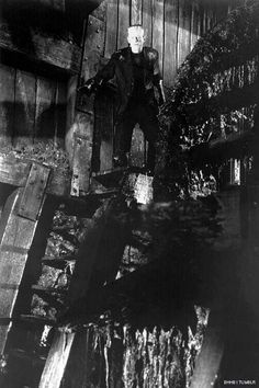 Boris Karloff in The Bride of Frankenstein