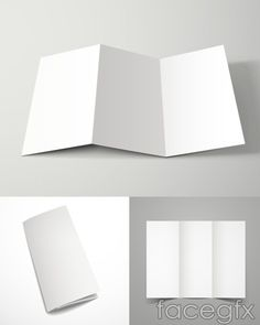Blank folding display vector