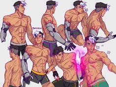 "taffydesu: "" Anatomy studies with Shiro! (edited) """