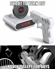 Standard issue on the Death Star